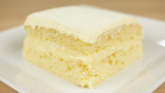 bolo de leite em pó Ninho