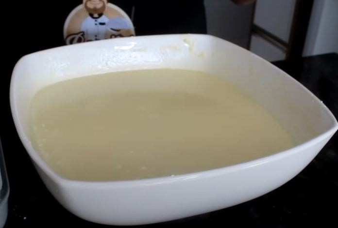 farinha misturada