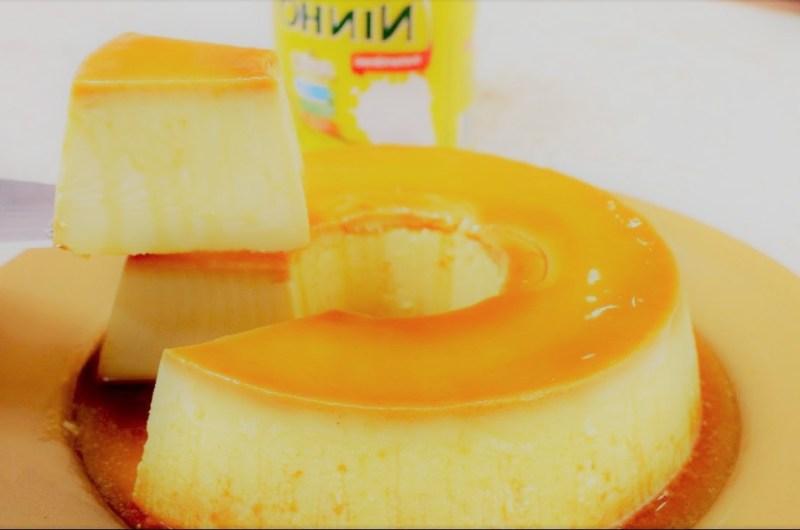 Pudim de Leite Ninho (leite tem pó)