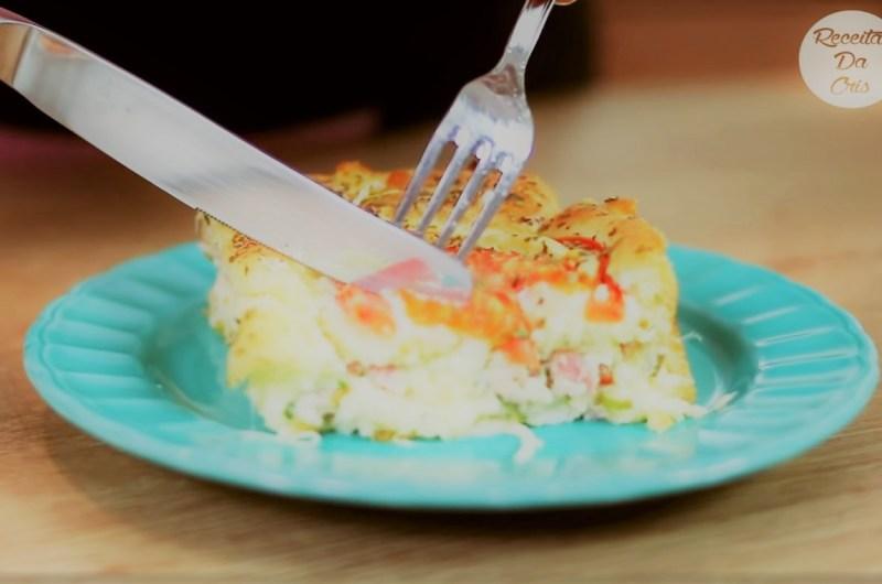 Torta Salgada de Liquidificador (Bauru)