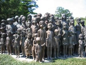 Stoke on Trent Lidice memorial