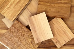 Hamonizing wood finishes