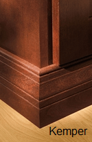 Central furniture molding