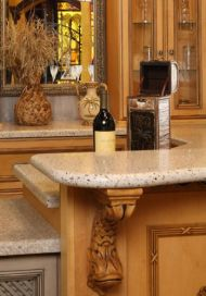 Central Cabinetry Countertops