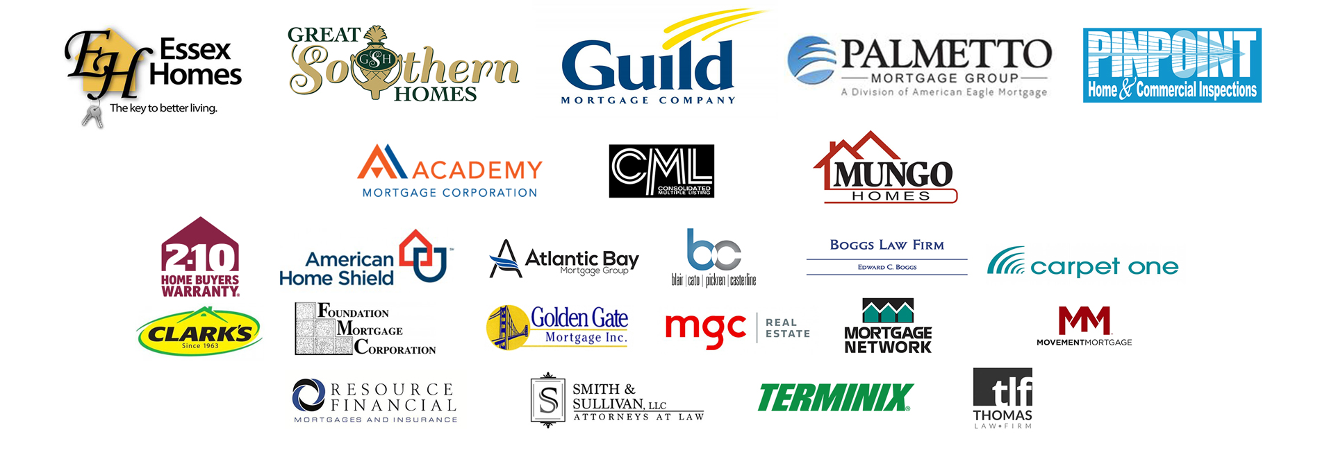 Residential Circle of Excellence Sponsors - 2016
