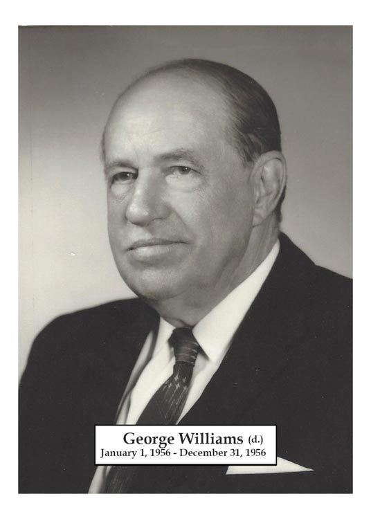 1956 - George Williams