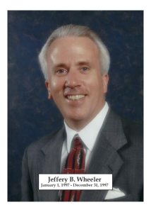 1997 - Jeffery B Wheeler