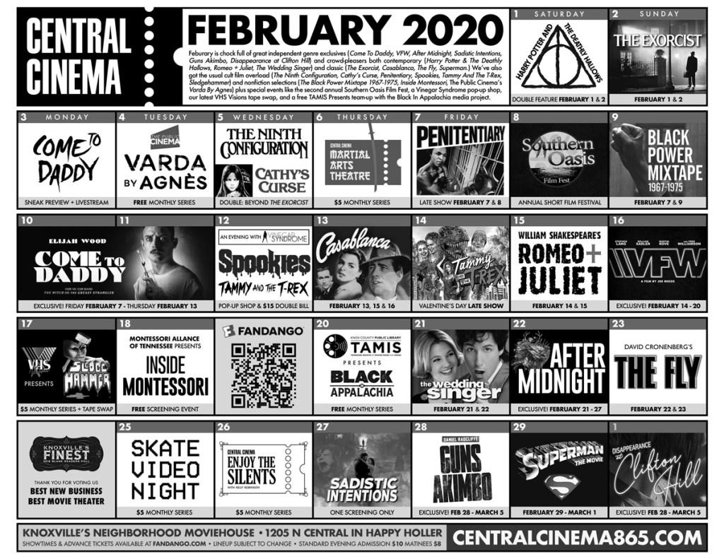 Calendar - February 2020