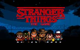 strangers things el videojuego