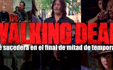 The Walking dead, final de mitad de temporada 8