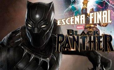 Se filtra la escena final de Black Panther