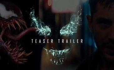 Venom la película trailer teaser