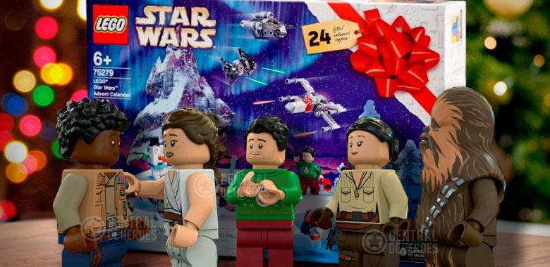 especial navidad de star wars lego