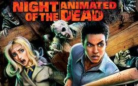 la noche de los muertos vivientes animados