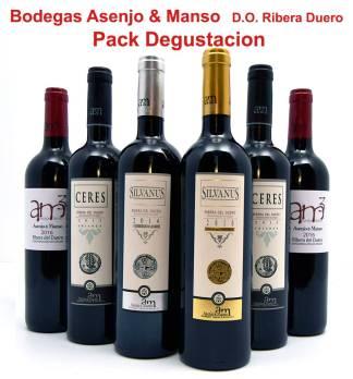 Asenjo Manso Pack promocional Ribera del Duero