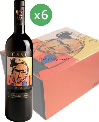 Care crianza 2014 tinto D.O. Cariñena caja 6 botellas 75cl