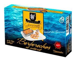 Conservas Areoso berberechos gourmet al natural 35-45