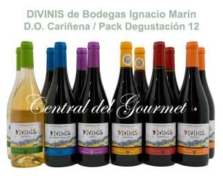 DIVINIS Pack Degustación 12 de Bodegas Ignacio Marín