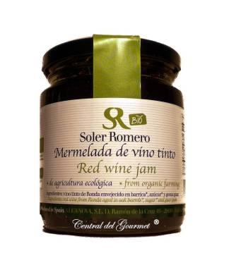 mermelada vino tinto bio ecologica soler romero