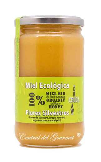 Miel Ecológica Cruda Gourmet Flores Silvestres Verdemiel