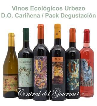 Vinos Ecológicos Gourmet Urbezo Pack Degustación