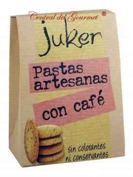 Pastas artesanas con café Juker, 300gr
