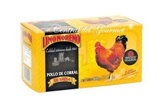 Pollo de Corral Gourmet en Escabeche Lino Moreno