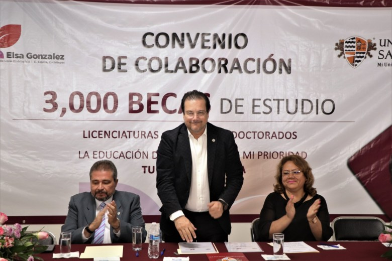 SUSCRIBE CONVENIO DE COLABORACIÓN LA DIPUTADA ELSA DELIA GONZÁLEZ CON LA UNIVERSIDAD SANTANDER .04jpeg