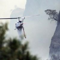 Enfrenta Tepoztlán uno de los incendios más fuertes en años Foto: Margarito Pérez Retana