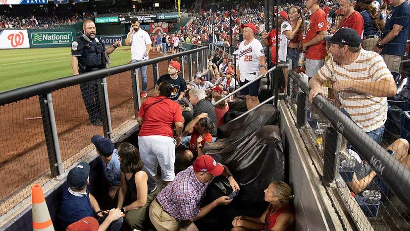 Suspenden juego entre Washington y los Padres de San Diego por balacera