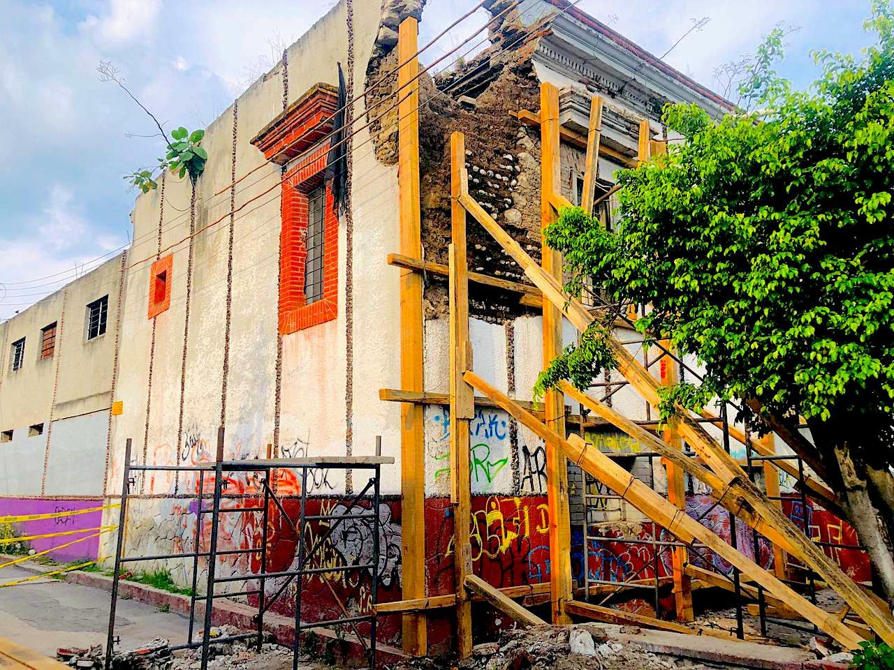 Protege Yautepec edificio histórico del municipio