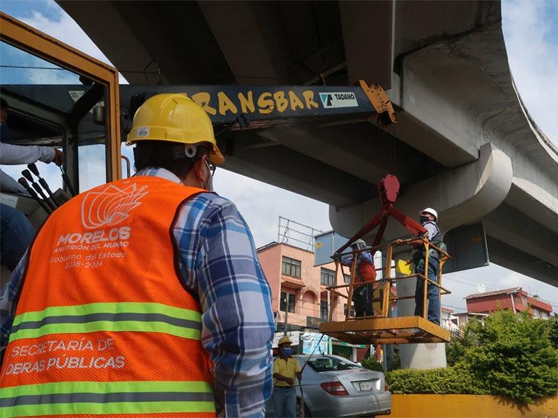 La obra fue construida en el Trienio de 2009-2012, durante la Administración del priista Manuel Martínez Garridos con recursos obtenidos a través de un préstamo autorizado al Ayuntamiento de Cuernavaca.