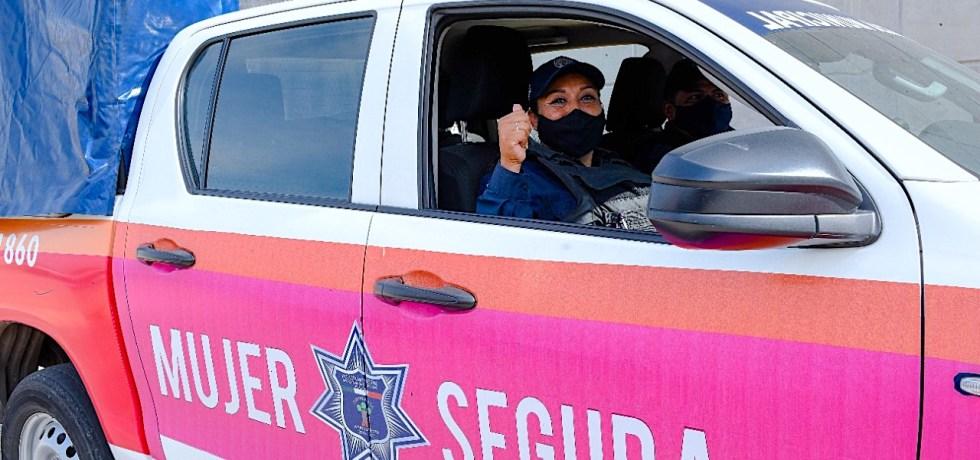 Policía de Género opera en Morelos para dar seguridad a las mujeres víctimas de violencia
