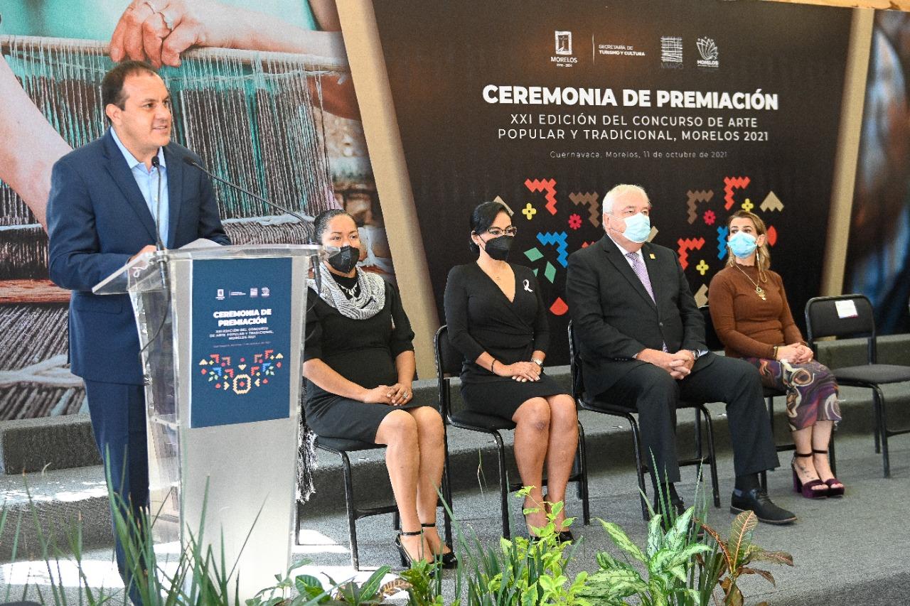 Impulsa Gobierno de Cuauhtémoc Blanco el rescate y difusión del arte popular morelense