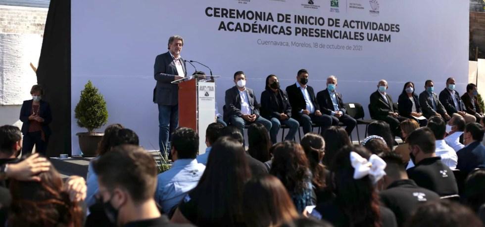 Regresan a clases presenciales 10 universidades públicas en el País