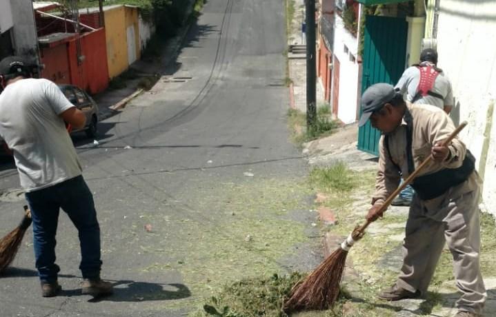 Remoza Ayuntamiento de Cuernavaca la Colonia Miguel Hidalgo