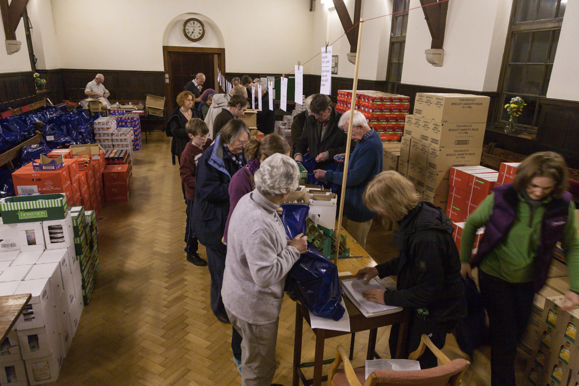 Christmas Parcel Packing (part 1)