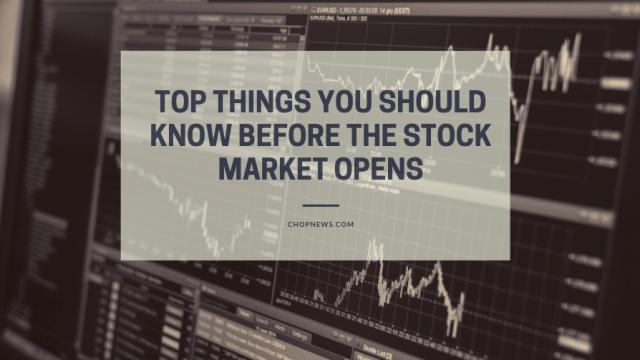 Stock Market Opens