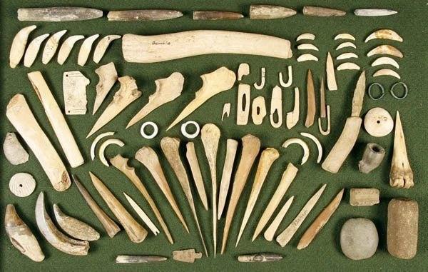 Native American Bone Tools