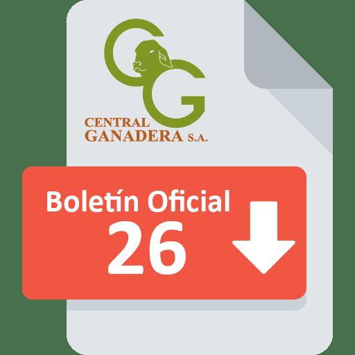 Boletín Oficial 26