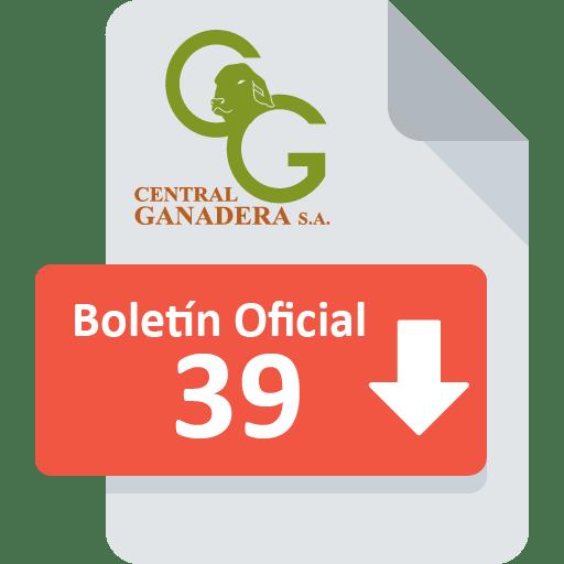 Boletín Oficial 39