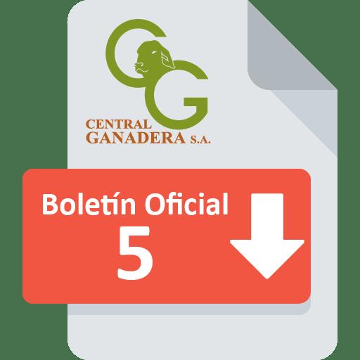 Boletín Oficial 5