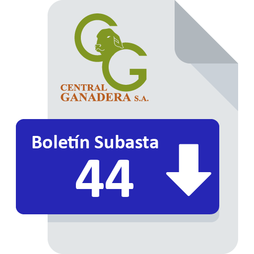 Resultados Subasta 44