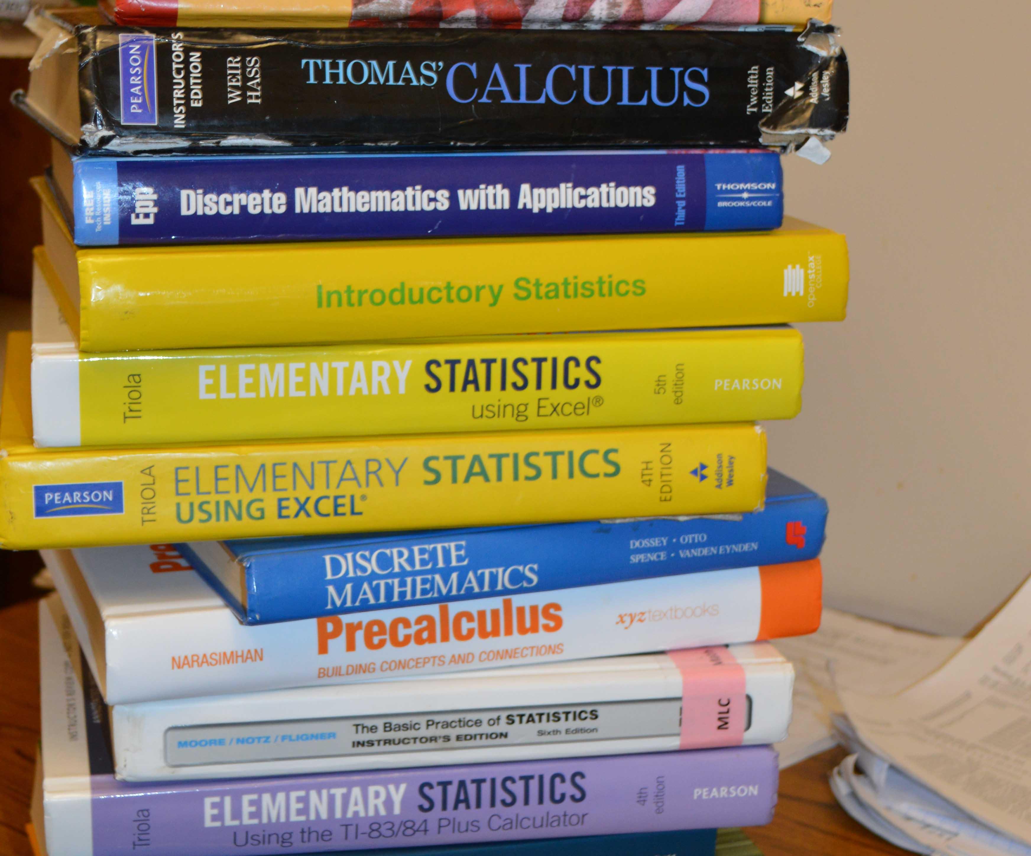 College Math Assessment Test Online