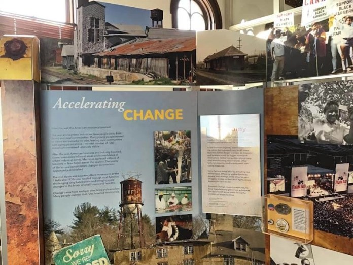 Rural America's past and potential on display in Atlanta
