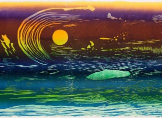 DAAC to feature reduction woodcut prints by Cathie Crawford in April