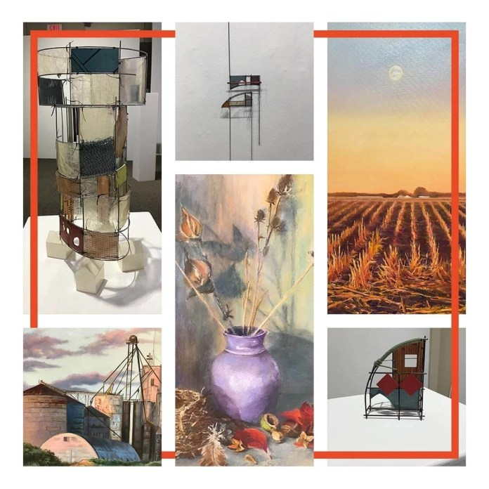 From pastels to sculpture and beyond in three MCAC exhibitions