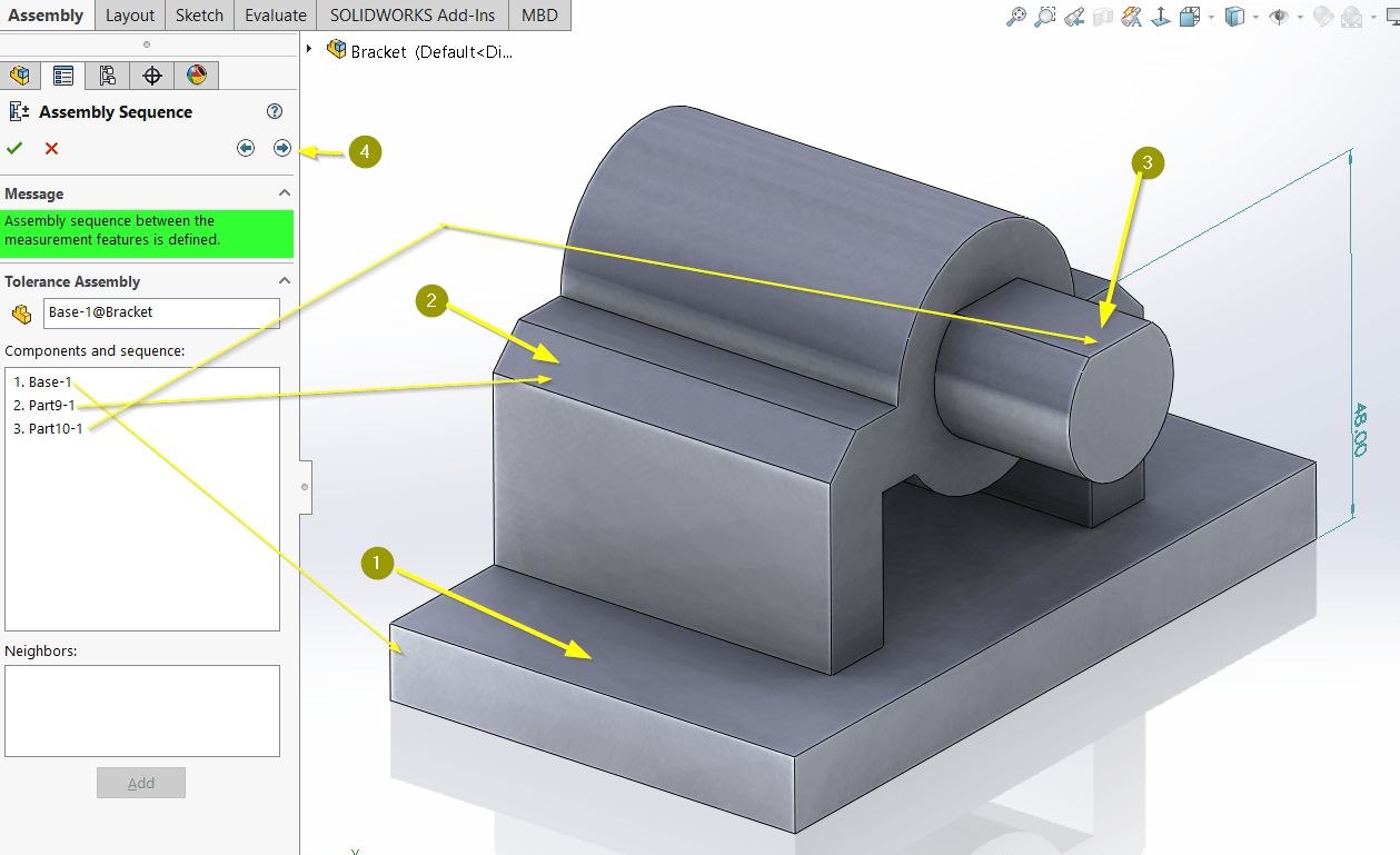 How To Use Solidwork S Stack Up Toleranceysis Tool