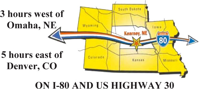 Lincoln Highway Centennial I 80 Map Central Nebraska Auto Club - Us-highway-80-map