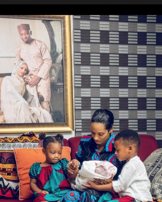 Di'ja Welcomes Third Child - Entertainment and Gist blog in Nigeria